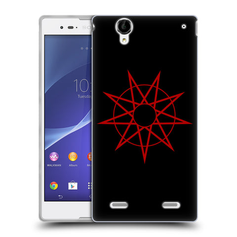 Official Slipknot Key Art Soft Gel Case for Sony Xperia T2 Ultra / T2 Dual