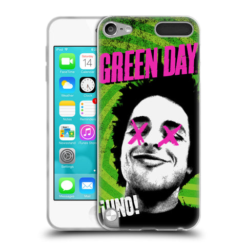 Official Green Day Key Art Soft Gel Case for iPod Touch 5th Gen / 6th Gen