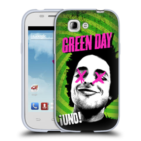 Official Green Day Key Art Soft Gel Case for ZTE Blade C2 Plus