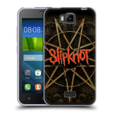 Official Slipknot Key Art Soft Gel Case for Huawei Y541