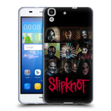 Official Slipknot Key Art Soft Gel Case for Huawei Y6 / Honor 4A