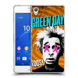 Official Green Day Key Art Soft Gel Case for Sony Xperia Z3