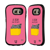 HEAD CASE DESIGNS WILBUR THE CAT HYBRID CASE FOR SAMSUNG GALAXY S6