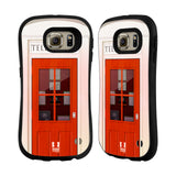 HEAD CASE DESIGNS TELEPHONE BOX HYBRID CASE FOR SAMSUNG GALAXY S6