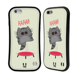 HEAD CASE DESIGNS WILBUR THE CAT HYBRID CASE FOR APPLE IPHONE 6 6S