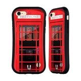 HEAD CASE DESIGNS TELEPHONE BOX HYBRID CASE FOR APPLE IPHONE 7