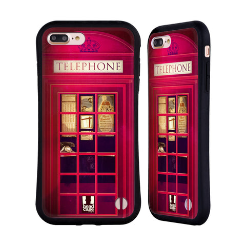 HEAD CASE DESIGNS TELEPHONE BOX HYBRID CASE FOR APPLE IPHONE 7 PLUS