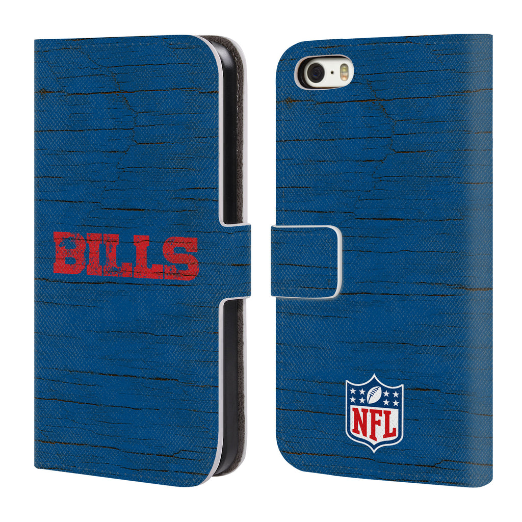 Cheap NFL Buffalo Bills Logo Leather Case For Apple iPhone 5 5S SE  supplier
