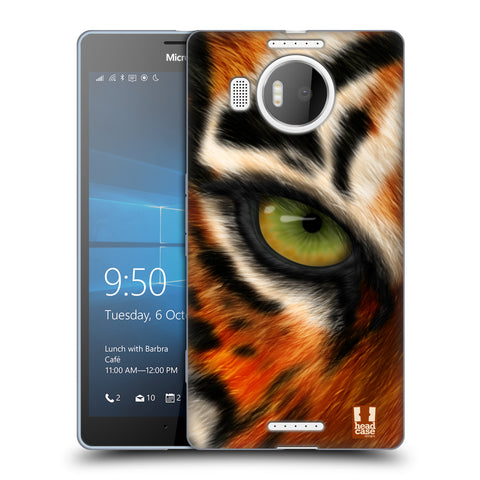 Head Case Designs Animal Eye Soft Gel Case for Microsoft Lumia 950 XL