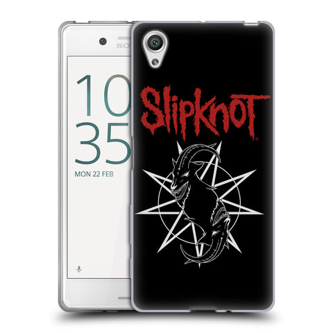 Official Slipknot Key Art Soft Gel Case for Sony Xperia X