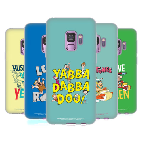 The Flintstones Graphics Soft Gel Case for Samsung Galaxy S9+ / S9 Plus