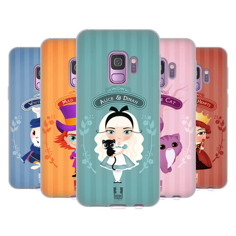 Head Case Designs Alice In Wonderland Soft Gel Case for Samsung Galaxy S8+ S8 Plus