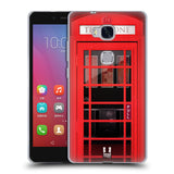 HEAD CASE DESIGNS TELEPHONE BOX SOFT GEL CASE FOR HUAWEI HONOR 5X GR5