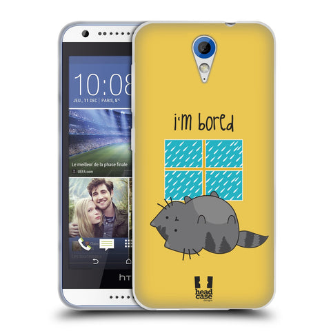 HEAD CASE DESIGNS WILBUR THE CAT SOFT GEL CASE FOR HTC DESIRE 620 / 620 DUAL SIM