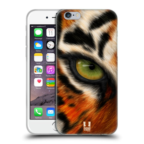 Head Case Designs Animal Eye Soft Gel Case for Apple iPhone 6 6S