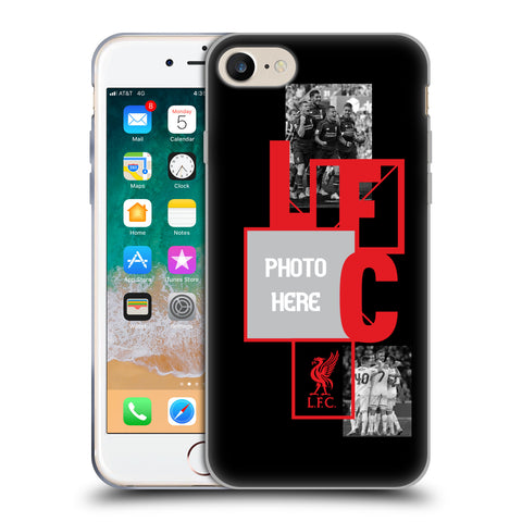 promo code a4731 23bd7 Custom Customised Personalised Liverpool Football Club Liverpool Fc Soft  Gel Case for Apple iPhone 7 / iPhone 8