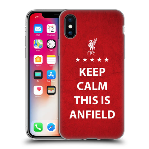 iphone xr liverpool gel case