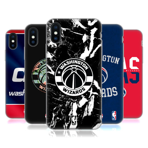 NBA 2019/20 Washington Wizards Soft Gel Case for Apple iPhone X / iPhone XS