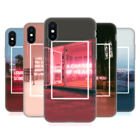 Official The 1975 Songs Soft Gel Case for Apple iPhone 7 / iPhone 8