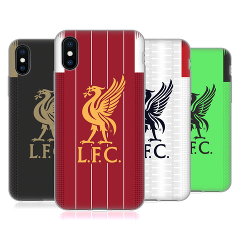 Liverpool Football Club 2019/20 Kit Soft Gel Case for Apple iPhone XR