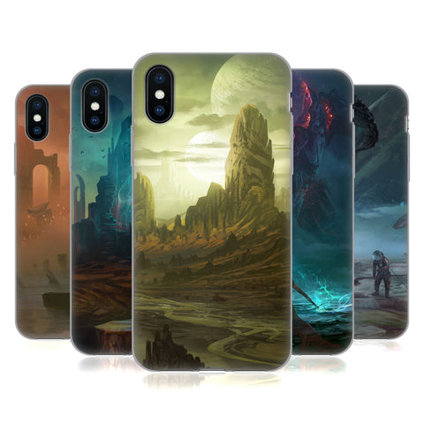 Official Alyn Spiller Environment Art Soft Gel Case for Apple iPhone X / iPhone XS