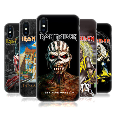 Official Iron Maiden Album Covers Soft Gel Case for Apple iPhone 7 / iPhone 8