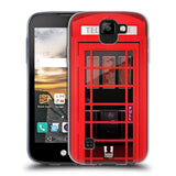 HEAD CASE DESIGNS TELEPHONE BOX SOFT GEL CASE FOR LG K3 (2017)