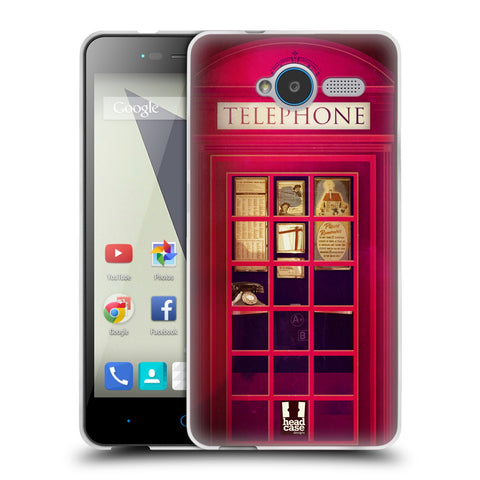 HEAD CASE DESIGNS TELEPHONE BOX SOFT GEL CASE FOR ZTE BLADE L3