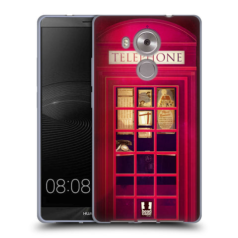 HEAD CASE DESIGNS TELEPHONE BOX SOFT GEL CASE FOR HUAWEI MATE 8