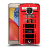 HEAD CASE DESIGNS TELEPHONE BOX SOFT GEL CASE FOR MOTOROLA MOTO E4 PLUS