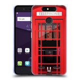 HEAD CASE DESIGNS TELEPHONE BOX SOFT GEL CASE FOR ZTE BLADE V8 MINI