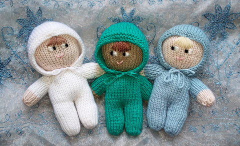 Nystagmus babies mascots