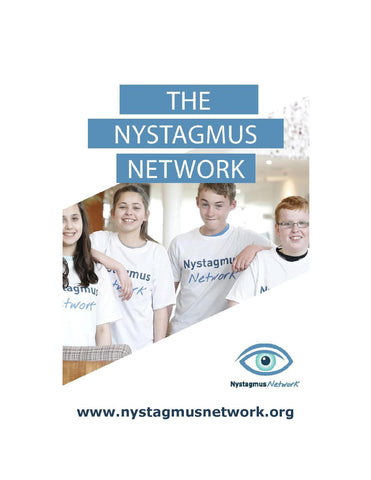 Nystagmus Network A4 poster