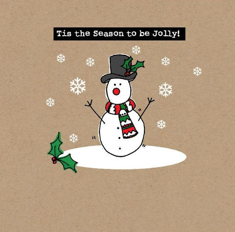 Christmas Cards - Tis the Season to be Jolly