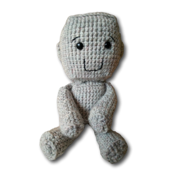Arh the Robot Amigurumi Crochet Pattern