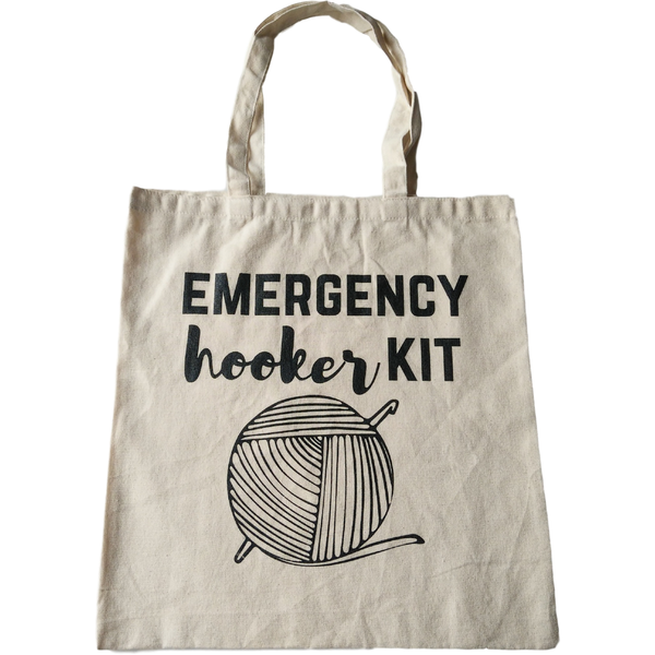 Emergency hooker kit XL Cotton Tote Bag