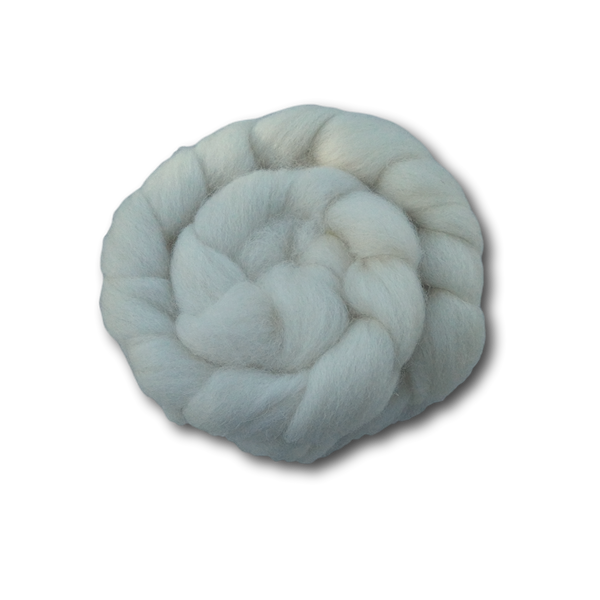 Undyed Cheviot Combed Top - 100g
