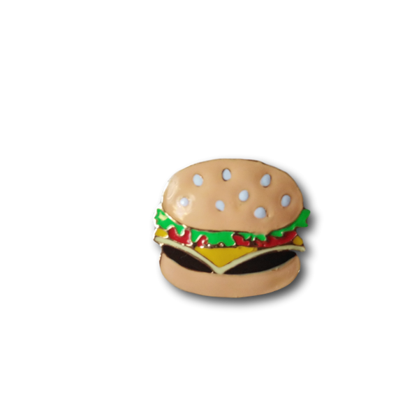 Brooch Pin - Hamburger