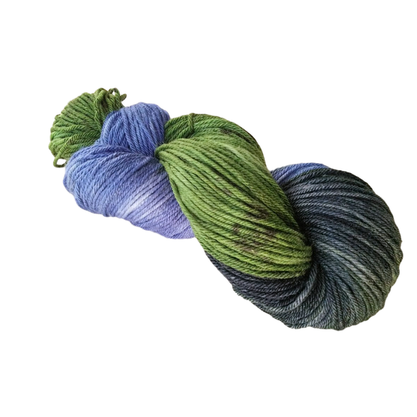 CORROSION - Merino & Silk 8 ply yarn 100g - Paint