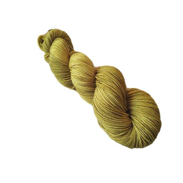 Heavy Metals - Gold - 100g Merino Yarn 8 Ply