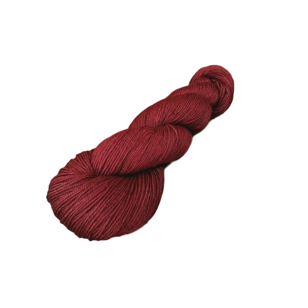 Tibet Luxe - Merino, Silk, Yak Blend - 100g 4 ply Yarn - Luxury Ruby