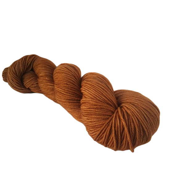 Super Springy Merino - 100g 8 ply Yarn - Luxury Amber