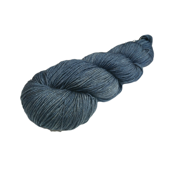 Yak Luxe - Merino, Silk, Yak Blend - 100g 4 ply Yarn - Luxury Blue