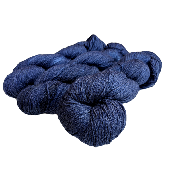 Bamboo Sock - 100g 4 ply Yarn - Midnight