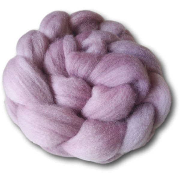 Castledale Hand Dyed Combed Tops 100g - Wild Rose