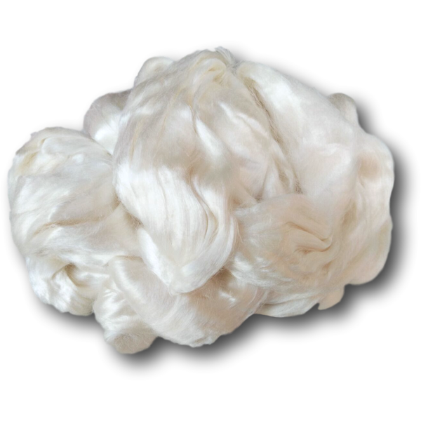 Rose Fibre Vegan Silk Sliver 100g