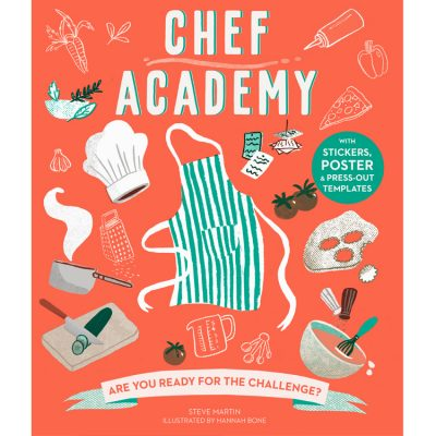 Chef' Academy Activity Book