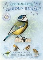Let's Look for Garden Birds a spot and play book