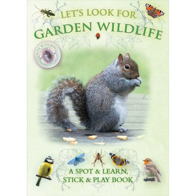 Let's Look for Garden Wildlife- Stick & Play