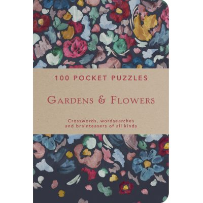 100 Pocket Puzzles Gardens and Flowers